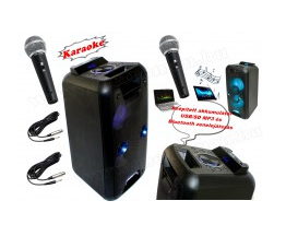 hordozható karaoke